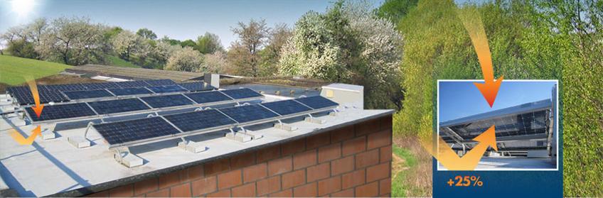 Pannelli solari bifacciali